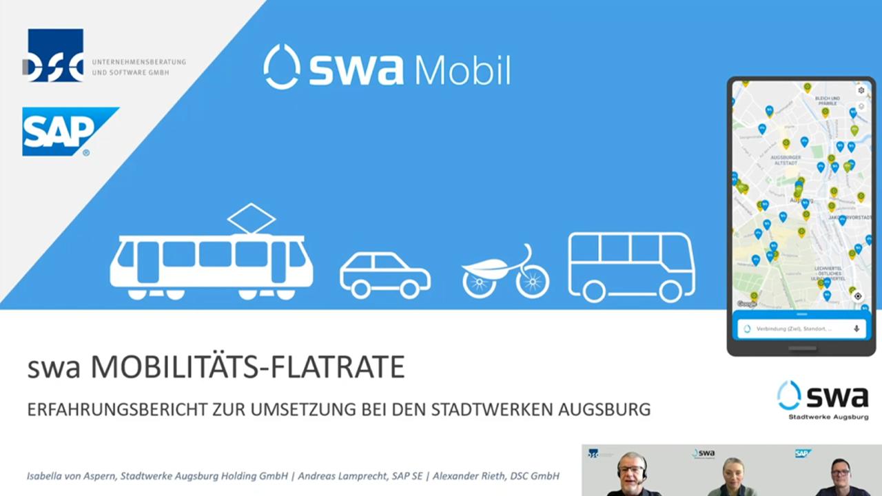 swa Mobilitäts Flatrate - Erfahrungsbericht Stadtwerke Augsburg