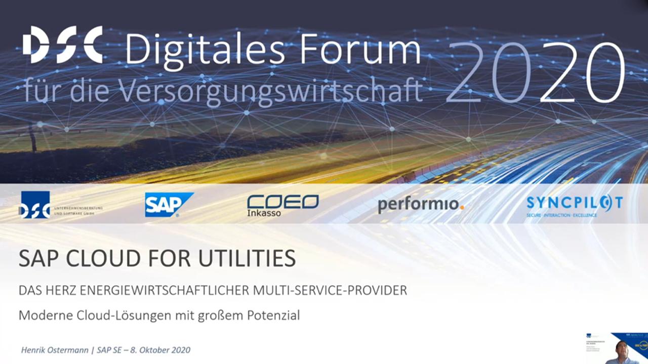 SAP Cloud for Utilities