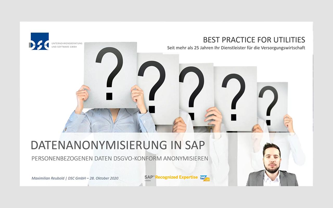 Datenanonymisierung in SAP-Systemen