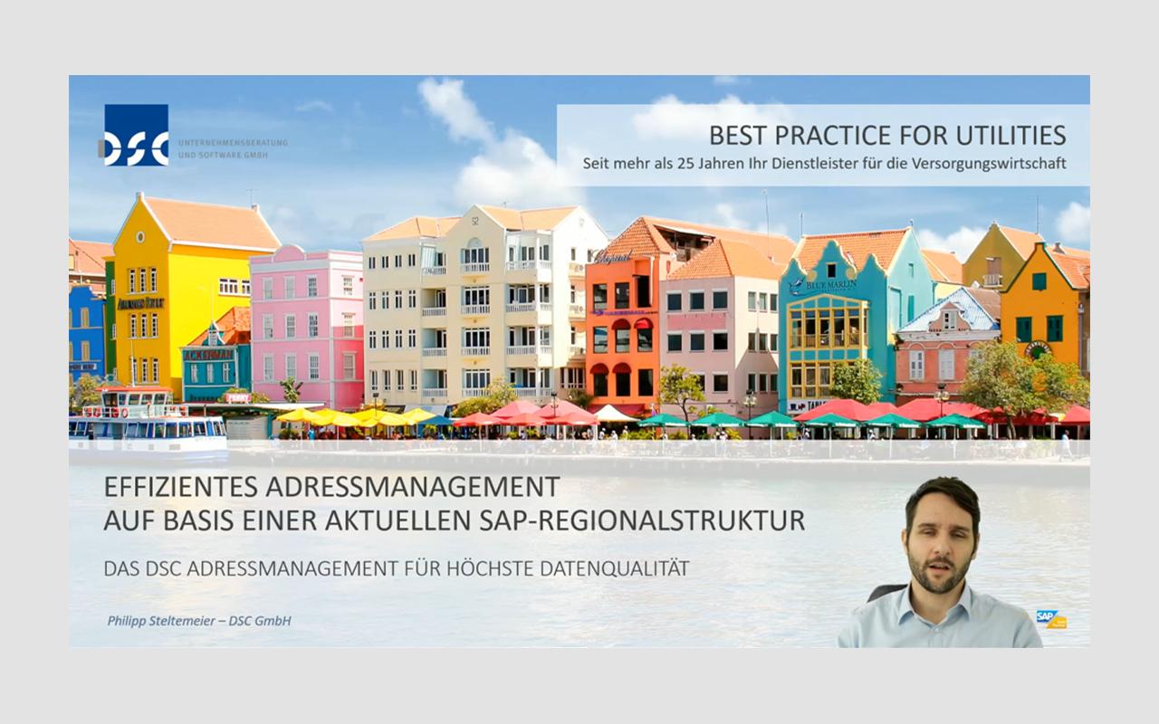 Datenqualität – Effizientes Adressmanagement auf Basis einer aktuellen SAP-Regionalstruktur