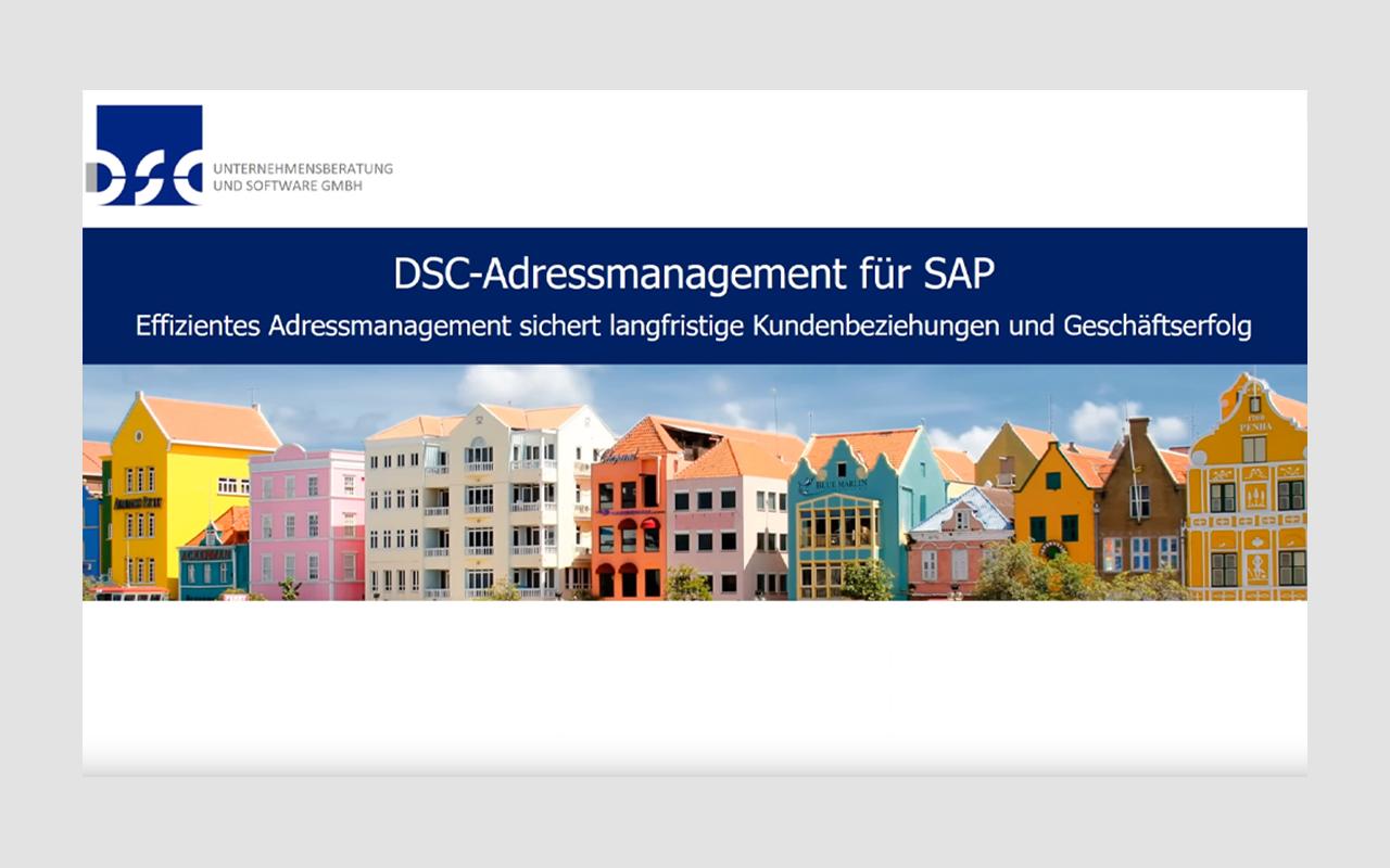 DSC-Adressmanagement